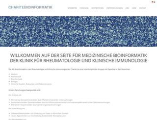charite-bioinformatik.de screenshot