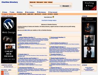 charitiesdirectory.com screenshot