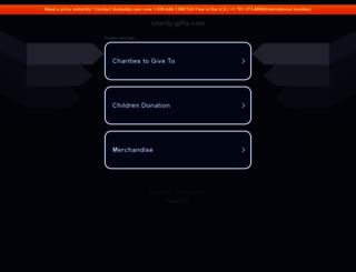 charity-gifts.com screenshot