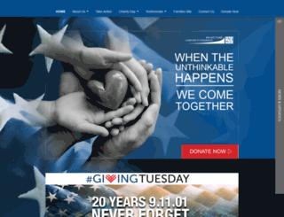 charityday.cantor.com screenshot