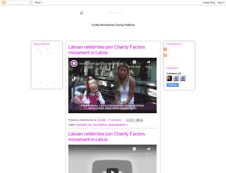 charityfactors.blogspot.com screenshot