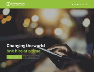 charitypeople.co.uk screenshot