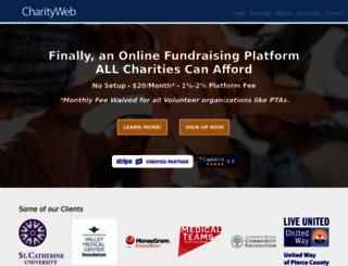 charityweb.net screenshot