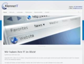 charleneklenner.de screenshot