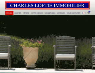 charles-loftie-immo.com screenshot