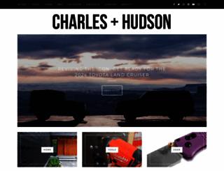 charlesandhudson.com screenshot