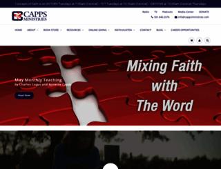 charlescapps.com screenshot