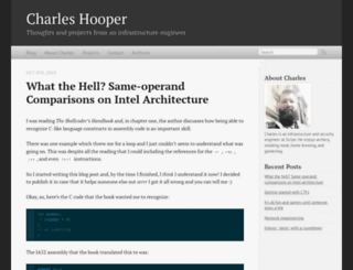 charleshooper.net screenshot