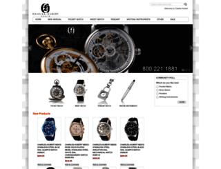 charleshubert.com screenshot