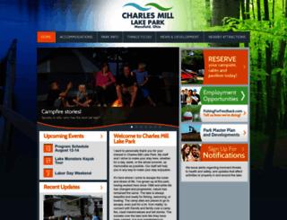 charlesmillpark.mwcd.org screenshot