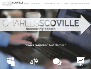 charlesscoville.net screenshot