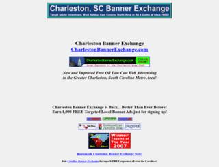 charlestonbannerexchange.com screenshot