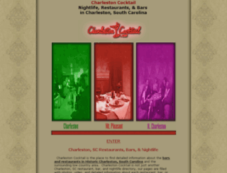 charlestoncocktail.com screenshot