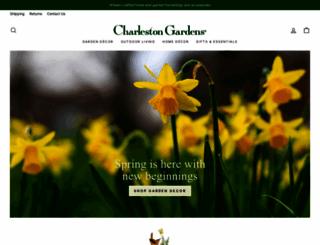charlestongardens.com screenshot