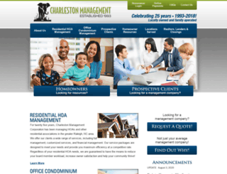 charlestonmanagement.com screenshot