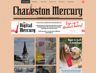 charlestonmercury.com screenshot