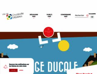 charleville-mezieres.fr screenshot