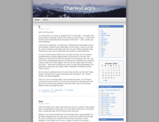charleycarps.wordpress.com screenshot