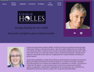 charlieholles.com screenshot