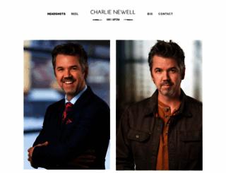 charlienewell.com screenshot