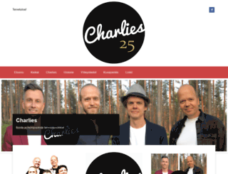 charliesmusic.fi screenshot