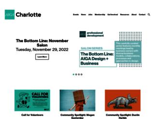 charlotte.aiga.org screenshot