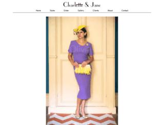 charlotteandjane.com screenshot
