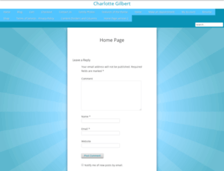 charlottegilbert.com screenshot