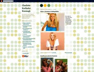 charlottekarlinder.blogspot.fr screenshot