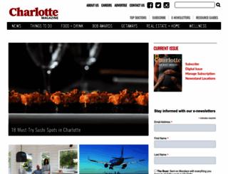 charlottemagazine.com screenshot