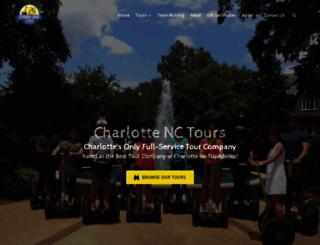 charlottenctours.com screenshot