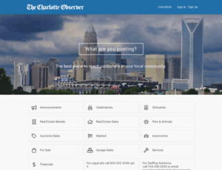 charlotteobserver.adperfect.com screenshot