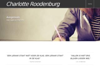 charlotteroodenburg.nl screenshot