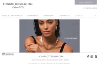 charlotteshop.com screenshot