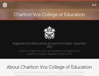 charltonvos.org screenshot