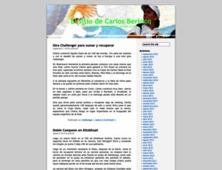 charlyberlocq.wordpress.com screenshot