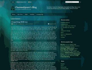 charmed4sure.wordpress.com screenshot