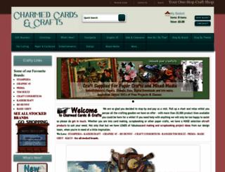 charmedcardsandcrafts.co.uk screenshot