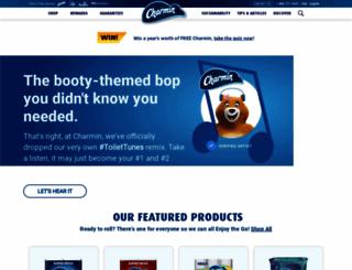 charmin.com screenshot