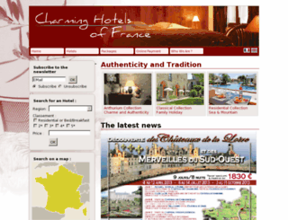 charming-hotels-of-france.com screenshot