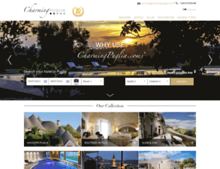 charmingpuglia.com screenshot