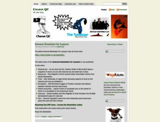 charonqc.wordpress.com screenshot