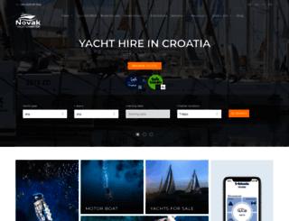 charter-novak.com screenshot