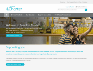 charter.co.uk screenshot