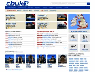 charterboats-uk.co.uk screenshot