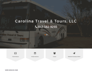 charterbusflorencesc.com screenshot