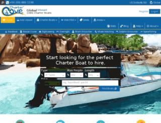 chartercove.com screenshot