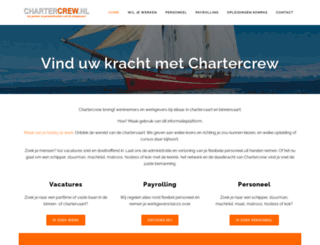 chartercrew.nl screenshot