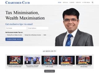 charteredclub.com screenshot
