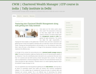 charteredwealthmanager.wordpress.com screenshot